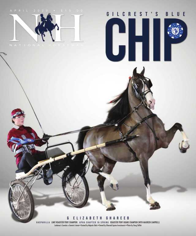 Cover of April-2020 National Horseman Magazine