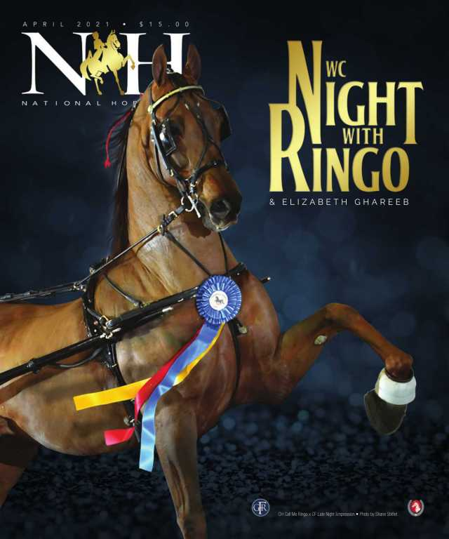 Cover of April-2021 National Horseman Magazine