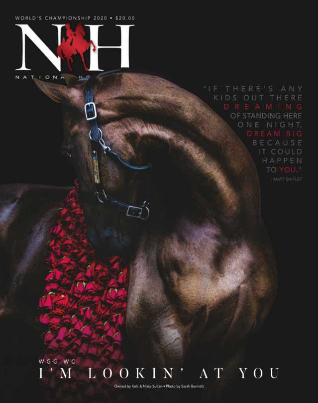Cover of July-Extra-2020 National Horseman Magazine
