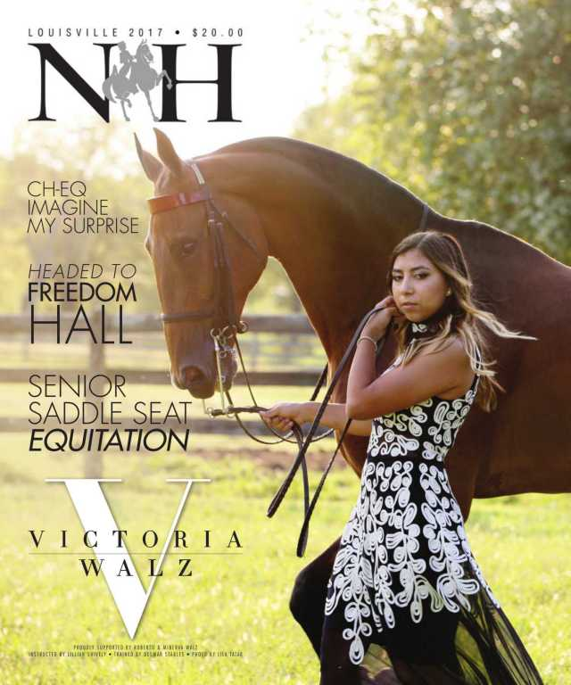Cover of  National Horseman Magazine