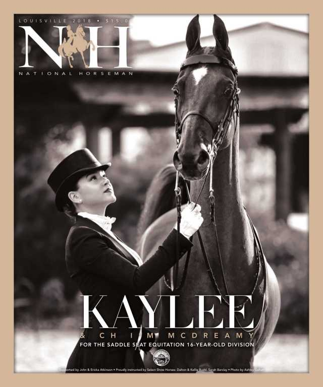 Cover of Louisville-2018 National Horseman Magazine