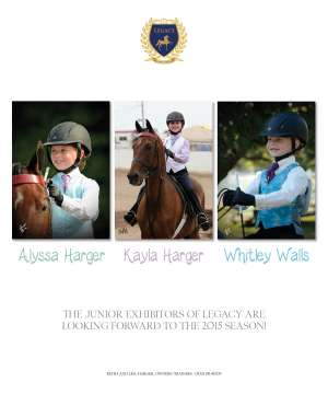 March 2015 National Horseman Advertiser Gallery